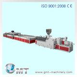 Protuberancia plástica de la producción de la tarjeta de la espuma de la corteza de WPC que hace la línea de la maquinaria