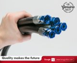 SAE100 R2at Hochdruckhydraulischer Gummischlauch mit hydraulischer Befestigung