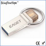 USB OTG 32GB USB 3.0 Gen Eaget V90 2-ого микро- (XH-USB-165)
