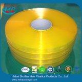 黄橙色の柔らかい透過反昆虫PVCストリップの製造業者
