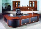 Mesa de escritório executivo de couro do folheado do painel da modéstia de Upholstery (HX-RD6049)