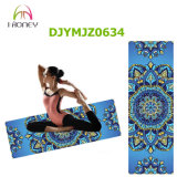 2in1 Ideal van de Mat van de yoga voor de Hete Mat van de Gymnastiek van de Praktijk van Ashtanga Pilates van de Yoga Bikram Zwetende