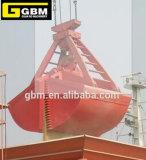 Грейферный ковш двойного ветроуловителя 4 веревочек течебезопасный механически