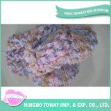 Lã Weaving alta resistência do fio de Loop Cotton extravagante