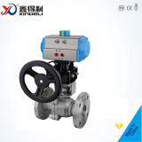 2 PC Flanged Ball Valve with Blow-out Proof Stem