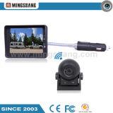 Sistema sem fio do CCTV com a câmera sem fio do monitor 3.5-Inch e da borboleta para o mini carro