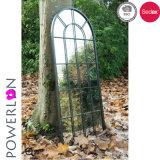 Miroir encadré par bois décoratif