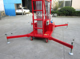 plataforma de trabajo aéreo automotora del mástil de la aleación de aluminio 12meters (GTWY12-200SB)