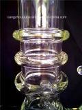 Rokende Pijp van het Glas van de Kleur van Borosilicate de Groene