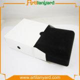 Rectángulo de empaquetado del almacenaje con insignia de sellado caliente