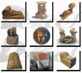 4 машина резца Engraver маршрутизатора 3D CNC оси деревянная каменная