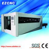 Laser Exchangeable da fibra da plataforma do CNC de Ezletter da estaca do metal