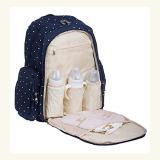Zaino del sacchetto del pannolino del bambino del sacchetto del pannolino della mummia di corsa con il rilievo cambiante del pannolino