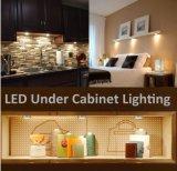 Long tira de aluminio LED con forma circular para gabinete de cocina y muebles