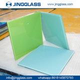 Prix de gros stratifié Tempered plat d'usine en verre souillé de couleur de la coutume 3-22mm