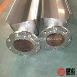 Prensa de filtro automática de membrana con la bandeja del goteo de la puerta de la bomba