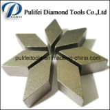 Het hard Concrete het Malen Segment van de Vloer voor de Plaat van de Band PCD van het Metaal