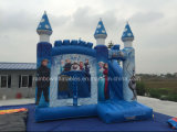 Heißer Verkaufs-aufblasbarer Prahler für Kinder, aufblasbares gefrorenes Schloss, aufblasbarer springender Prahler