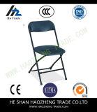 Schwarz-Plastikfalz-Stuhl der Kapazitäts-Hzmc059