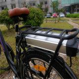 26 '' 36V 250W Straßen-elektrisches Fahrrad mit hinterer Zahnstangen-Batterie