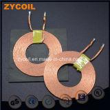 Bobina de cobre de Tx del alambre de Litz para el cargador sin hilos
