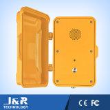 Tunnel-wasserdichtes Telefon, im Freientelefon IP67 industrielles VoIP Notruftelefon