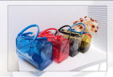 O pacote translúcido do saco cosmético fresco pequeno novo do PVC