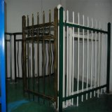 Распыленный PVC ограждать Palisade металла стальной/загородка сада