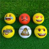 Pelotas de golf de encargo de Emoji de la insignia y de la impresión