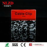 Круглый плоский хомут для кабелей с стальным ногтем, зажимом держателя кабеля, полными величинами от 3.5mm до 40mm
