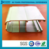 Profil en aluminium en aluminium personnalisé d'épaisseur pour le cadre de tissu pour rideaux de porte de guichet de la Libye