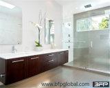 Vaidade laminada MDF do banheiro da alta qualidade fixada na parede