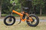 脂肪質のタイヤの電気バイクセリウムとの小さい折るフレームの自転車250W Foldable Ebike