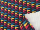 tela de Oxford del poliester de la impresión de 300d DTY con la capa de la PU para las chaquetas al aire libre