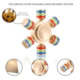 EDC van de Spinner van de Hand van het koper Stuk speelgoed
