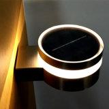 Lumière solaire de jardin de la lumière DEL de mur de lampe d'intérieur extérieure d'éclairage
