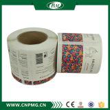 Étiquette de papier auto-adhésive de collant