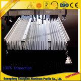 Perfil de aluminio modificado para requisitos particulares del disipador de calor del radiador de aluminio para la industria