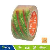 Bande adhésive claire superbe d'emballage avec la force à haute résistance