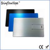 De Creditcard USB van het Metaal van het aluminium (Xh-usb-012M)