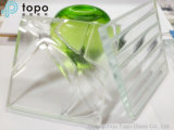Dekoratives Kristallstereokunst-Glas für Gebäude-Wände (Atp)