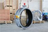 Dubbel Van een flens voorzien Vleugelklep met Al de Schijf van het Brons C95800 (CBF02-TF01)