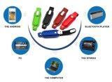 Nuevo mecanismo impulsor del flash del USB del cuero del diseño de la venta caliente 2017
