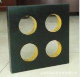 幸運の黒いチーナンの花こう岩の正方形
