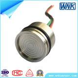 Sensor piezoresistente da pressão do aço inoxidável, saída análoga para o transmissor de pressão