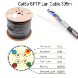 UTP Cat5e LAN Cable Amarelo 0.45mm CCA 305m / Roll