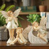 Standbeelden de Van uitstekende kwaliteit van de Fee van de Tuin van de Hars van de douane voor Verkoop