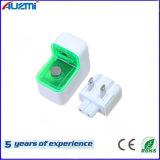 Chargeur universel de course de l'adaptateur d'alimentation USB avec l'éclairage LED