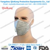 Máscara disponible de la niebla con humo del filtro del polvo del estilo plano del doblez