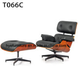 Presidenza comoda del braccio di Eames di svago della mobilia del salone (T066)